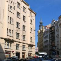 The Residence Principe is situated in renovated 5 floors building from turn of the century. There is a lift at the building. This  three-bedroom serviced apartment is 100 sq.m ,  and can sleep 5 peopl