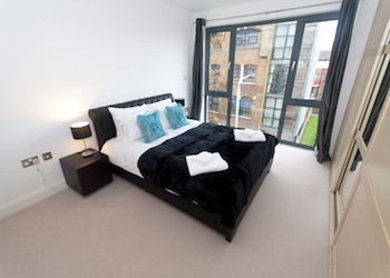 This  two serviced apartment is 55 sq.m ,  and can sleep 2 people maximum.  The apartment has 1 bathroom. The minimum length of stay for this apartment is 3 Night(s).