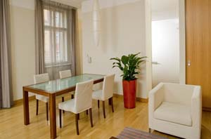 A short walk from Prague's historic Old Town, the midscale Mamaison Residence Belgická, in an innovative Feng-Shui style, is the ideal location for short and extended business and leisure stays. Se