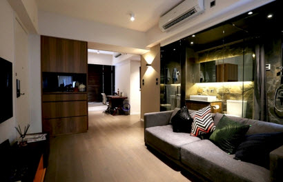 MORI MORI Serviced Apartments is committed to best of the best services, and to provide a pleasant living environment. Locate near MRT Causeway Bay Station, near Time Square. The staff is dedicated to