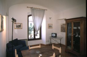 historical restored building, end of `800,second floor with view onto via Labicana This  one-bedroom serviced apartment is 65 sq.m ,  and can sleep 2 people maximum.  The apartment has 1 bathroom. The